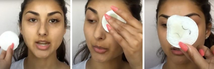eyelash extension how to remove