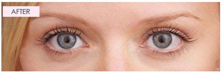 Lash brow after 1000 Hour eyelash brow