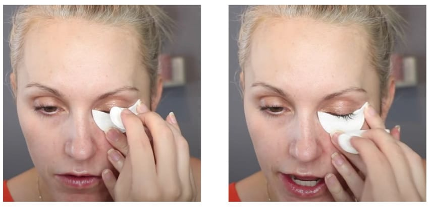 Easy use of 1000 Hour eyelash brows