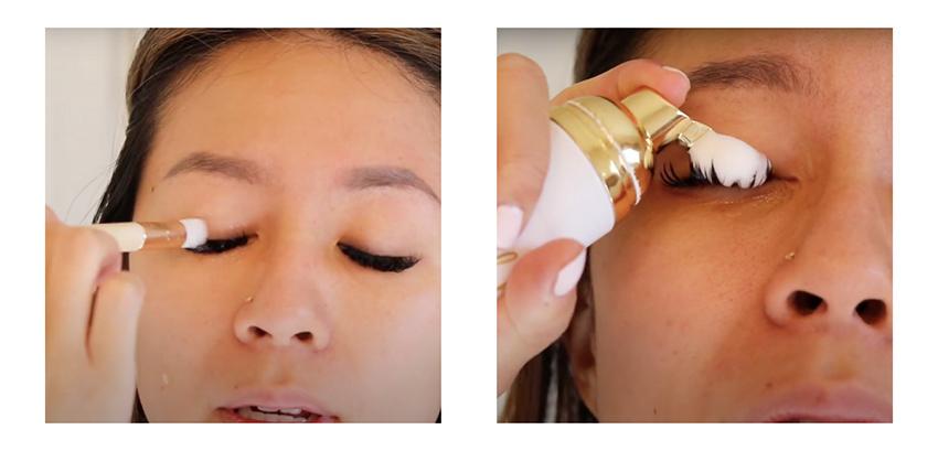 foam cleanser eyelash extensions