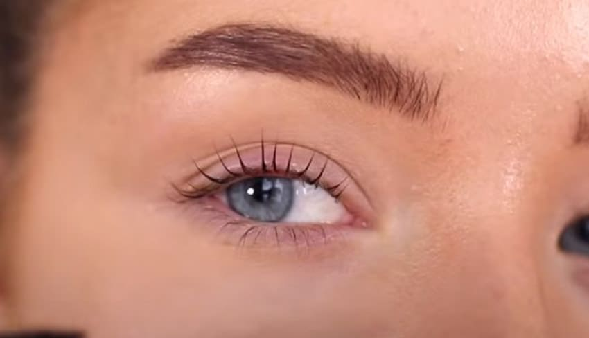 beautiful lifted eye lashes