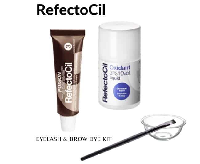 RefectoCil eyelash brow dye kit